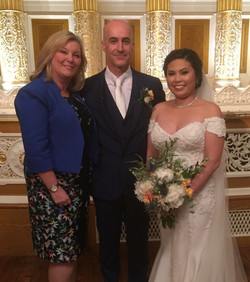 Traditional Liverpool Wedding Celebrant, Lorraine Hull