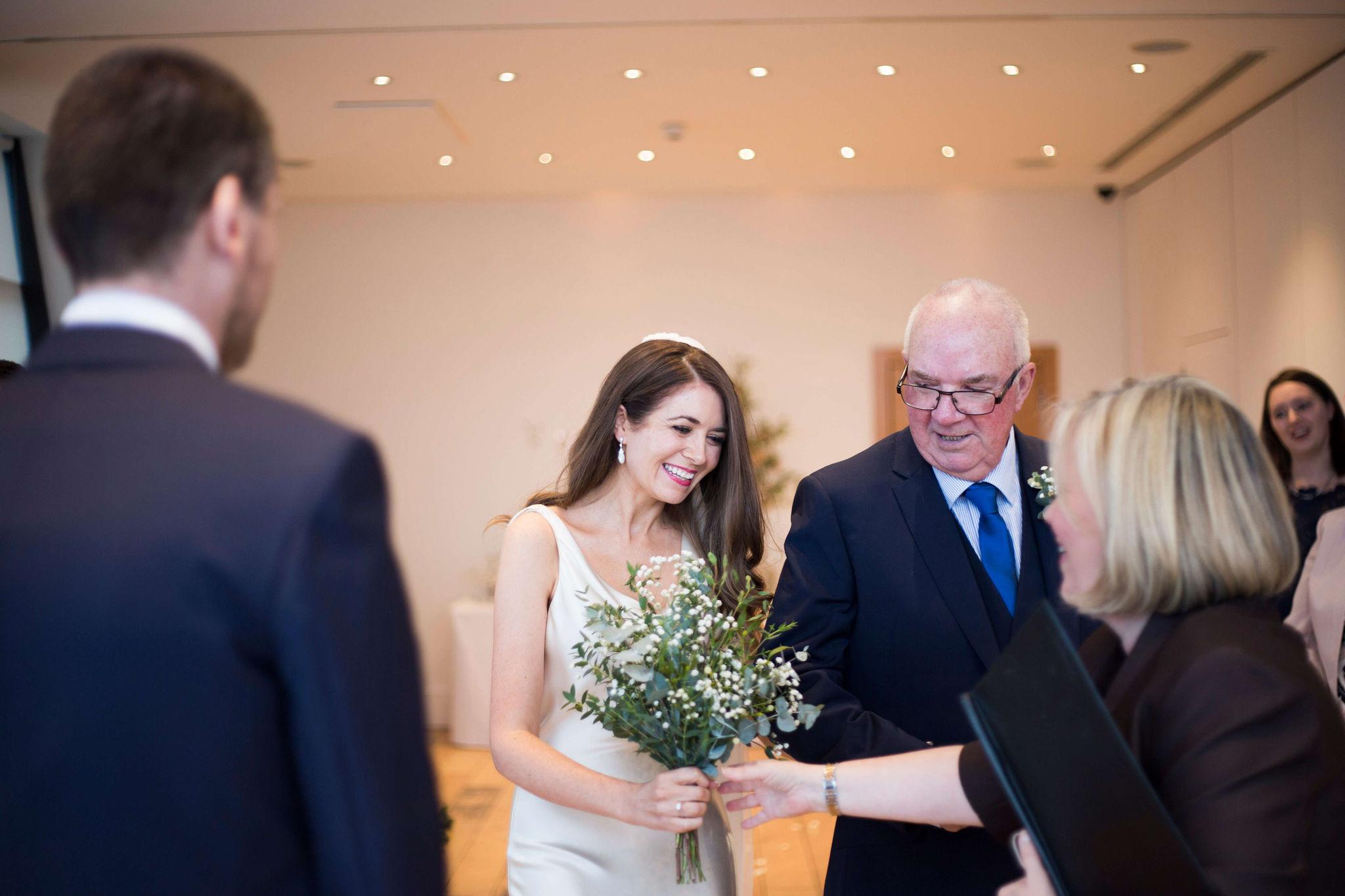 Winter Wedding Celebrant, Lorraine Hull