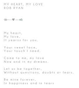 Liverpool Celebrant Wedding Reading by Rob Ryan