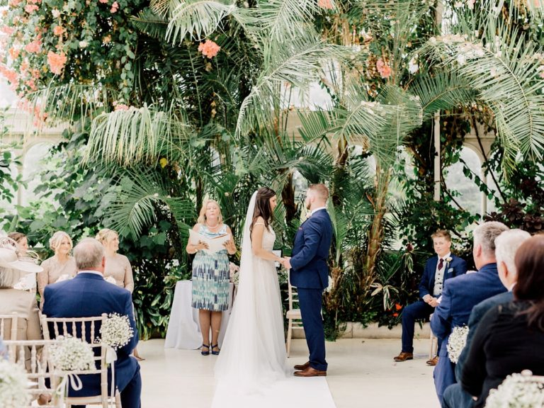 Liverpool Palm House Wedding Celebrant, Lorraine Hull