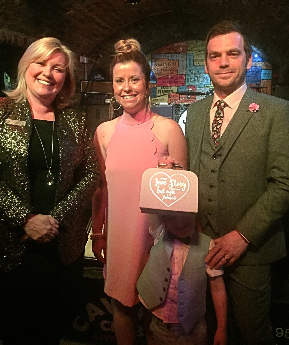 Renewal of Vows and Handfasting Ceremony for three - at the Cavern, Liverpool