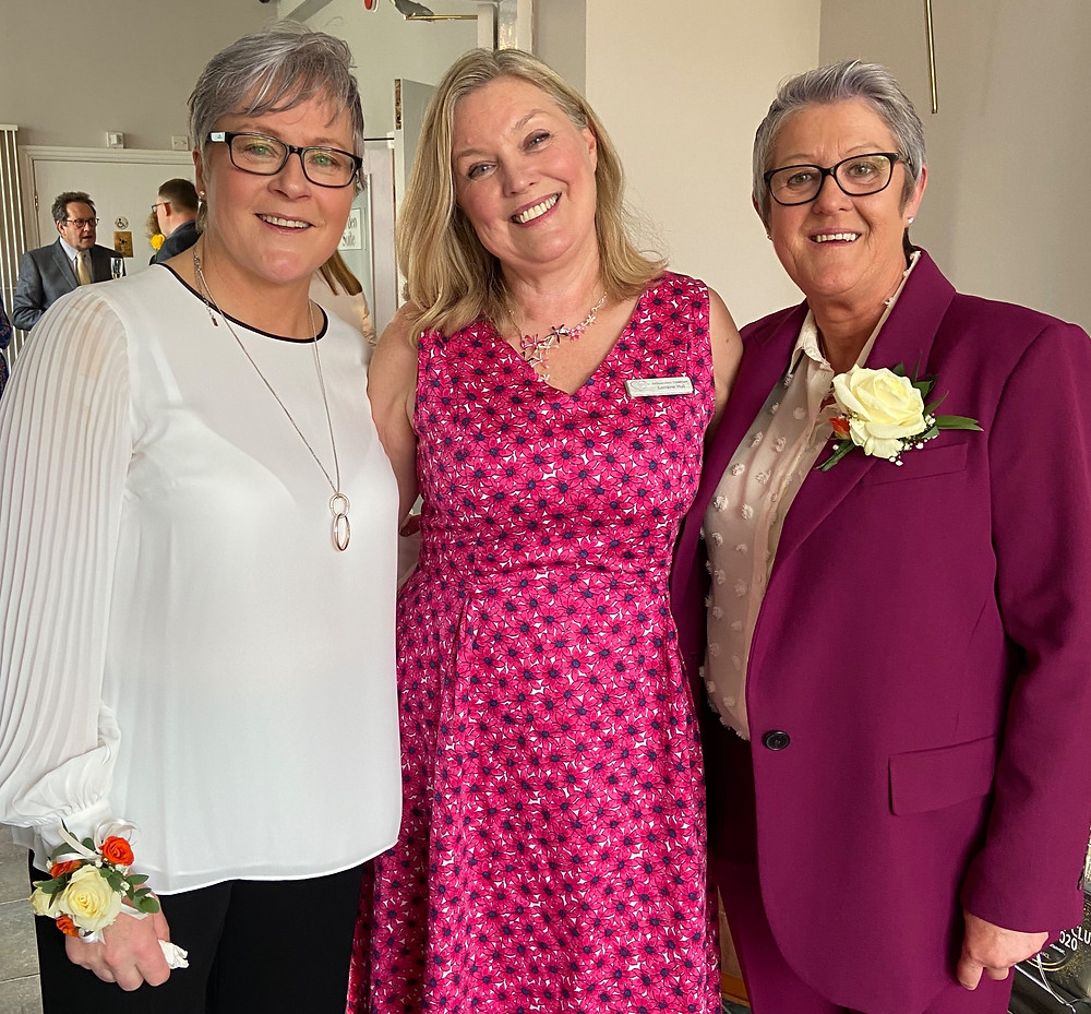 Lancashire Wedding celebrant and two brides