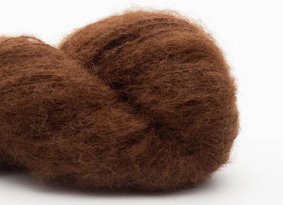 BC Garn - Brushed Baby GOTS- 306 Dark brown undyed