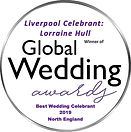 Lorraine Hull, winner of Global Wedding Awards 2017-2019