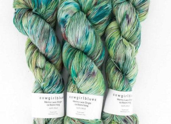 Cowgirlblues - Merino Single Lace Farbverlauf - Karma Chameleon 25