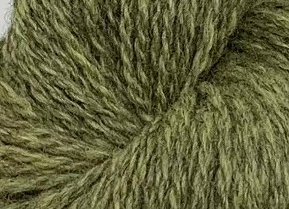 Blåne Pelsullgarn Limette dunkel 2142