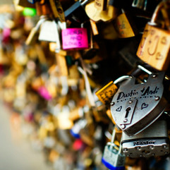 Love Locks and the key to love...