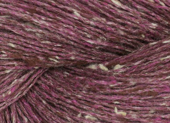 BC Yarn - Tussah Tweed - 032 Bordeaux-Creme Mix