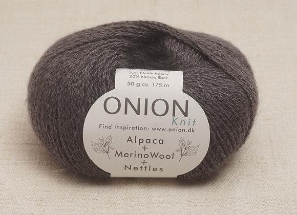 Onion Alpaca Merino Nettles - 1202 Mork Gra