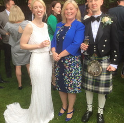 Real Celebrant Wedding: Kate & Malcolm's Marquee Wedding, at home...