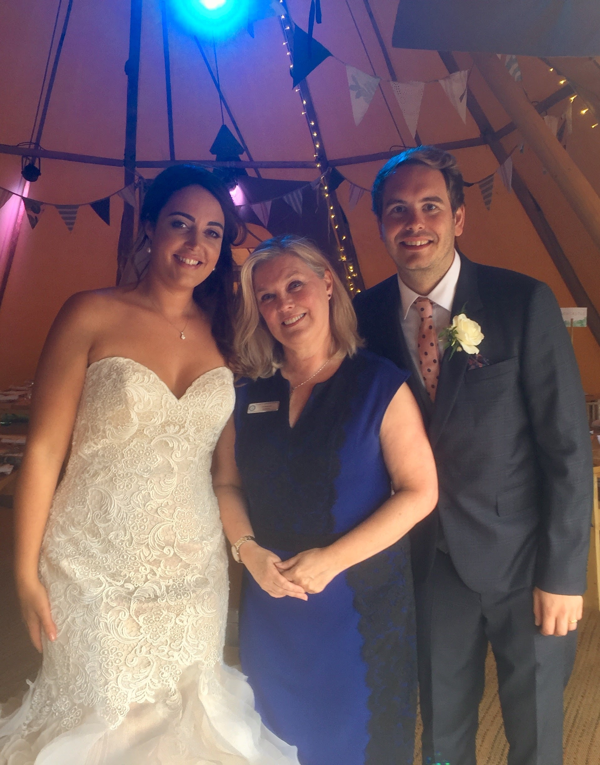 Wirral Farm Wedding Celebrant, Lorraine Hull