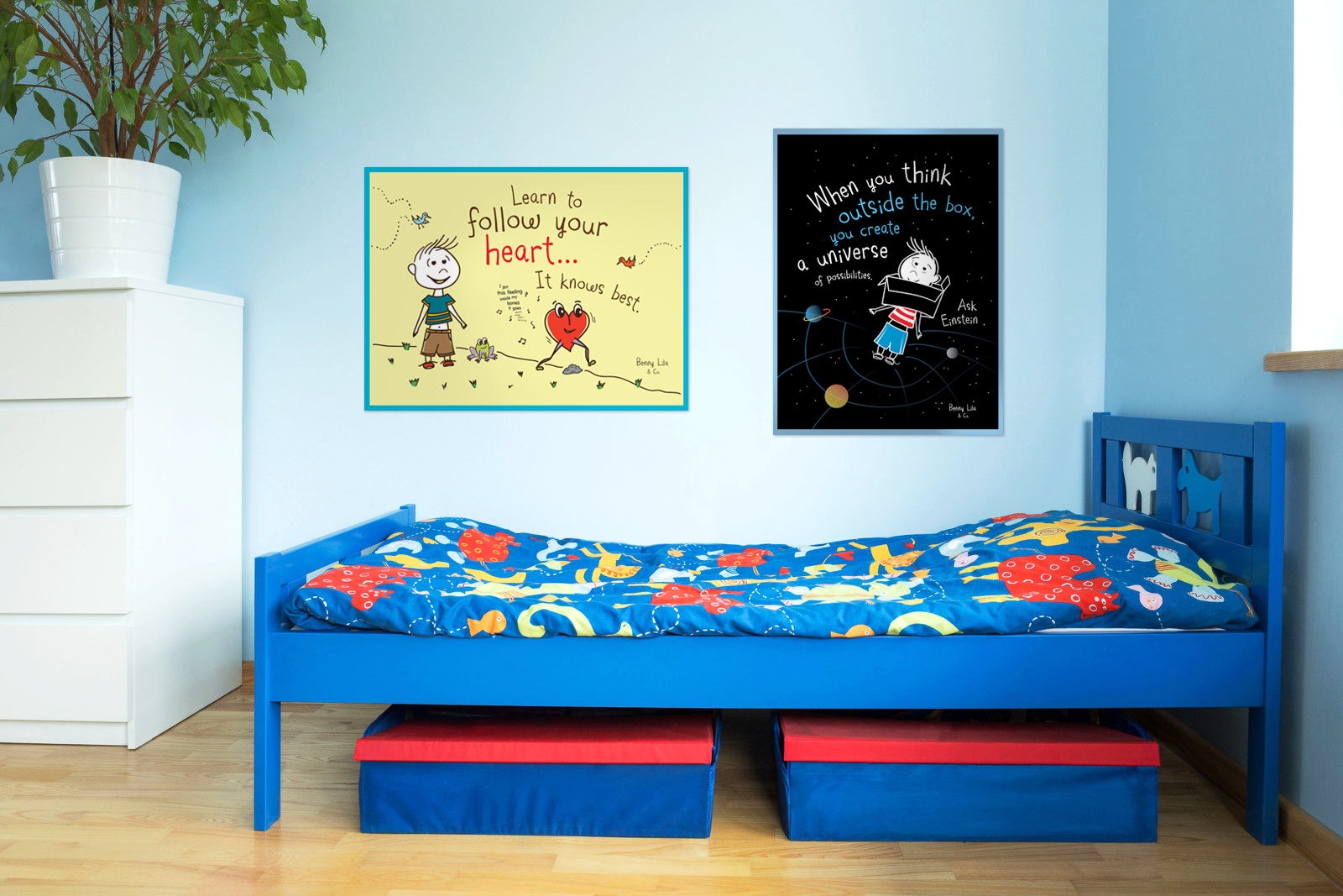 Benny-2-posters-bluebedroom.png