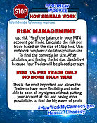 Is a security way trade Forex with 1% per trade