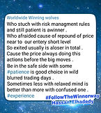 Use Risk Management in Forex trade is one important rule