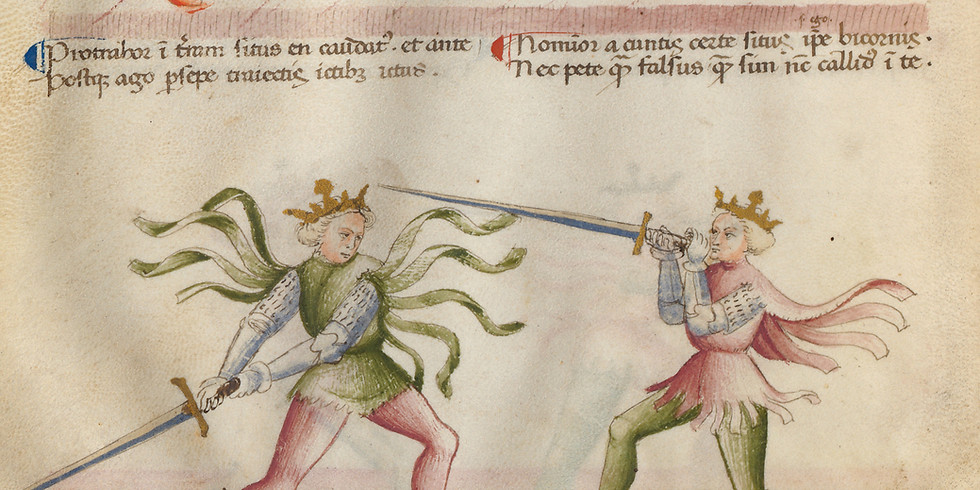 A Beautiful Mess: The Florius Manuscript of Knightly Arts