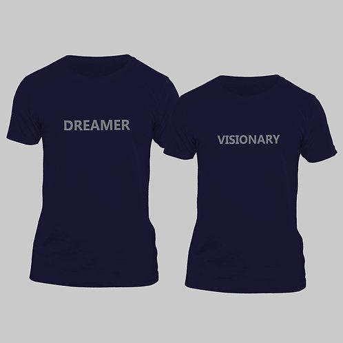 Hinglish Valentine Day Dreamer Visionary Couple T-shirt