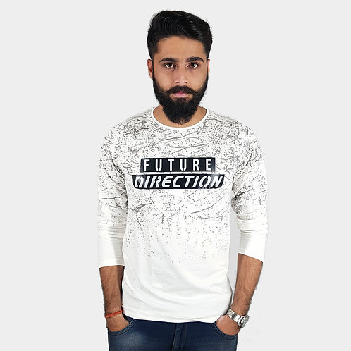 Hinglish Full Sleeve Round Neck T-Shirt