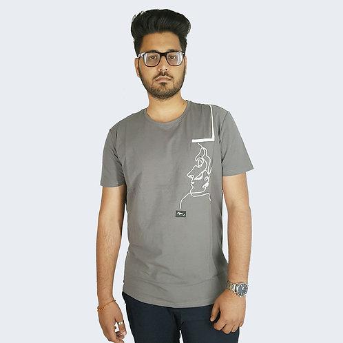 Hinglish Designer Round Neck T-Shirt