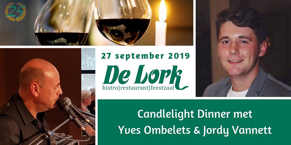 Candlelight Dinner met Yves en Jordy Vannett