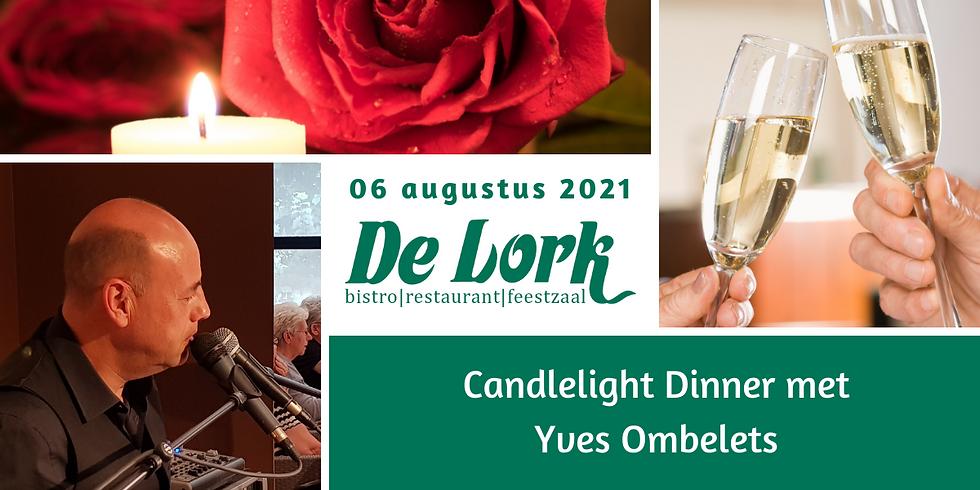 Candlelight dinner met Yves Ombelets