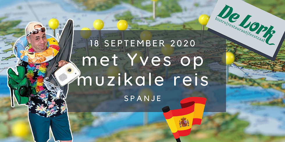 Yves op culinaire & muzikale reis - Spanje