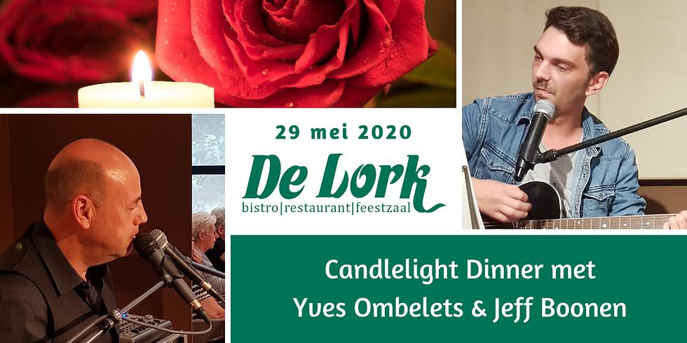 Candlelight Diner met Yves en Jeff Boonen