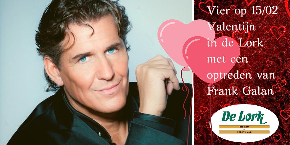 Valentijndiner met Frank Galan