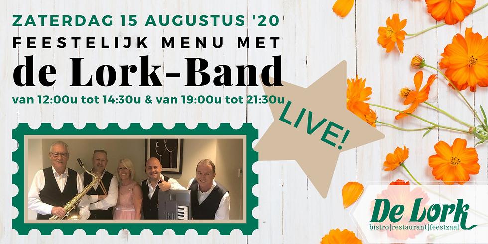 Feestelijk menu met de Lork-Band (shift 1)