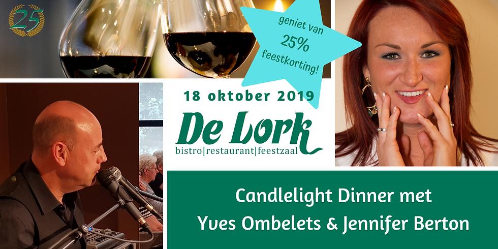 Candlelight Dinner met Yves en Jennifer Berton