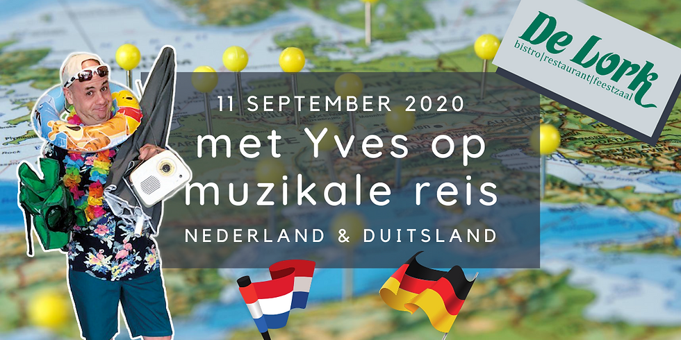 Yves op culinaire & muzikale reis - Nederland & Duitsland