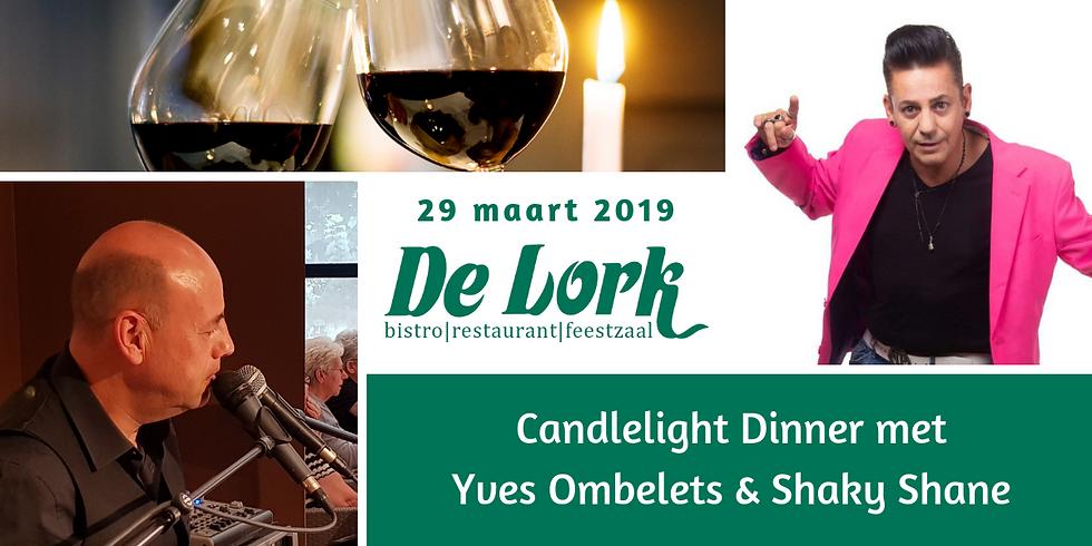 Candlelight Dinner met Yves en Shaky Shane