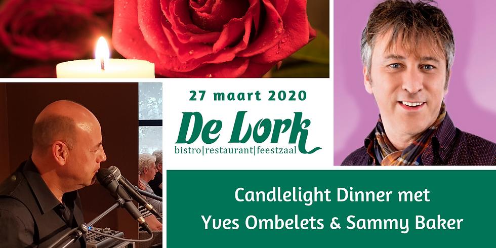 Candlelight Diner met Yves en Sammy Baker