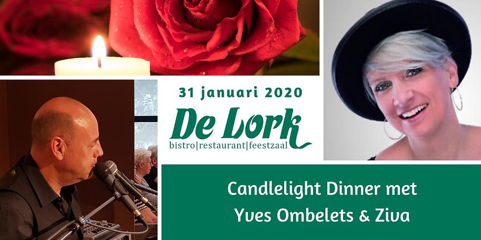Candlelight Dinner met Yves en Ziva