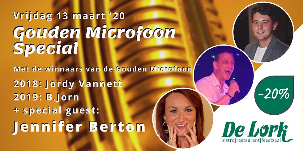 Muzikaal Diner: Gouden Microfoon Winnaars & Jennifer Berton