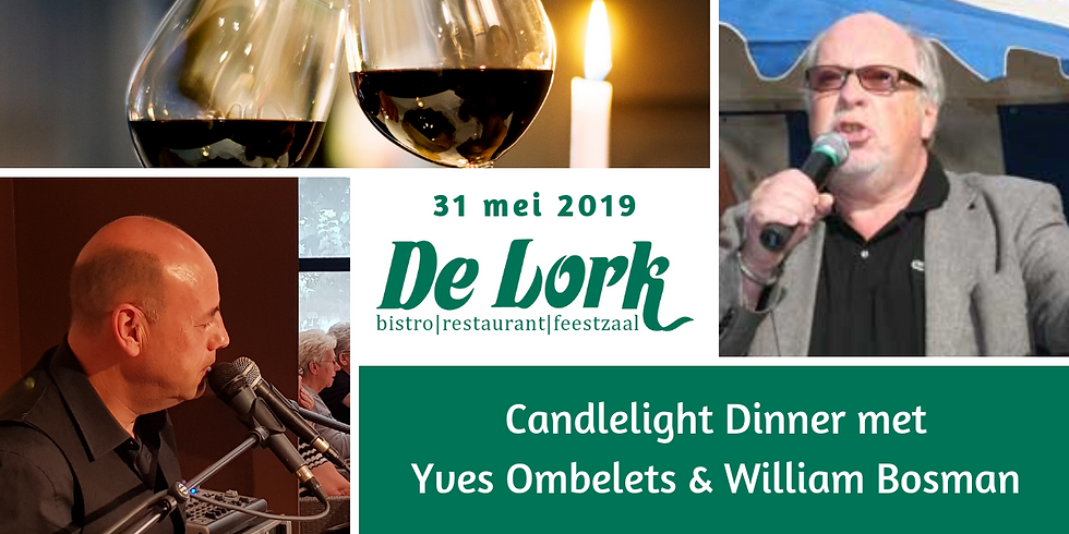 Candlelight Dinner met Yves en crooner William Bosman