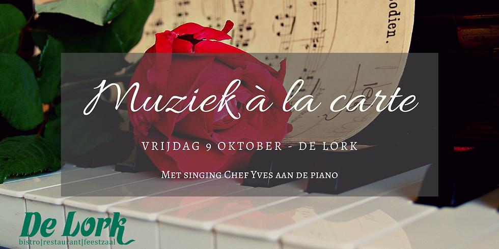 Muziek à la Carte met Yves