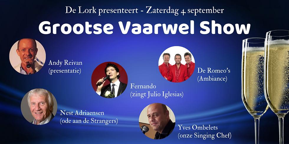 Grootse Vaarwel Show De Lork