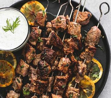 Taste Virtual Cooking Class MEDITERRANEAN SKEWERS & LEBANESE RICE