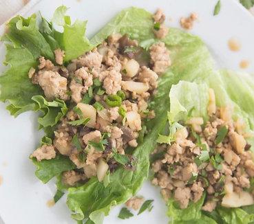 True Taste Virtual Cooking Class HEALTHY TURKEY LETTUCE WRAPS