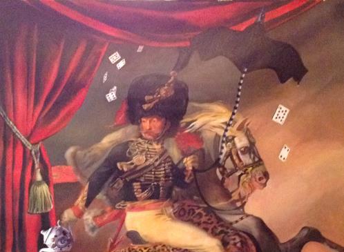 """""""The Magician""""  145 x 2 oleo sobre tela  2012"""