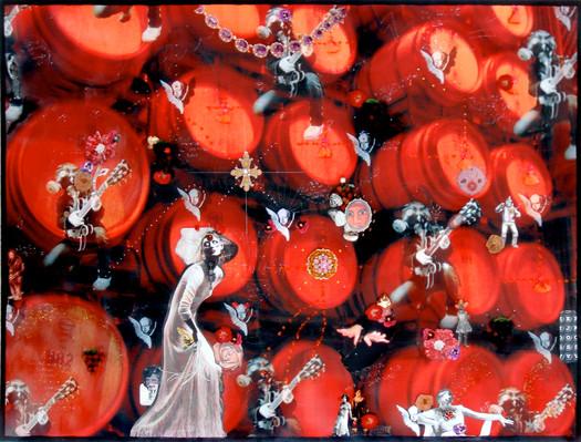 La Alacena de Doña Letizia 78x110 Sangre de la Uva 2008 Parras Coahuila