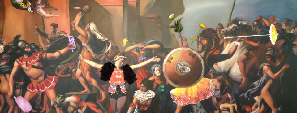 """Circus"" 170x280 Oleo sobre tela 2011"