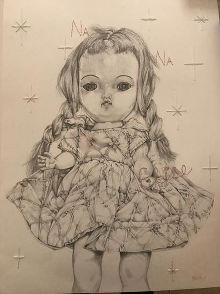 nana elise 74x59 2017 grafito y mixta.jp