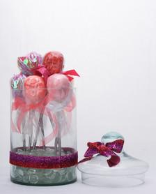 Las lollipos de margarita. Escultura. 2019