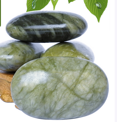 Gua Sha Green Jade Massage Pillow