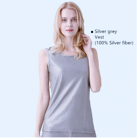 100% silver fibre Vest