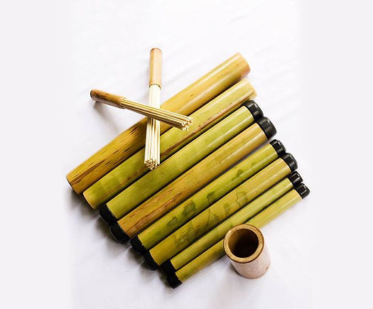 Bamboo Massage Canes Training School