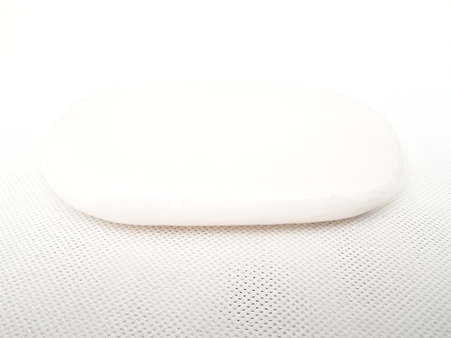 White Marble Massage Plate