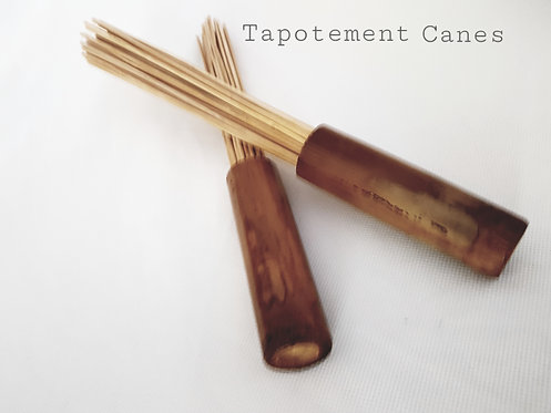 Bamboo massage Tapping cane