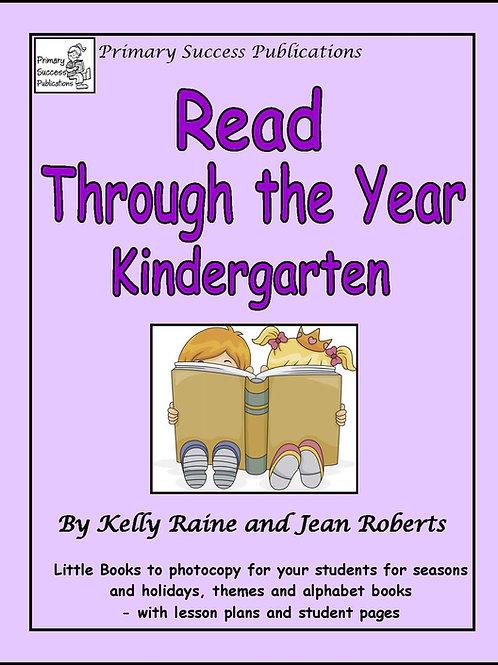 Read Through the Year - Kindergarten